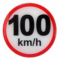 ΣΗΜΑ ΤΑΧΥΤΗΤΑΣ ΧΙΛΙΟΜΕΤΡΩΝ 100km/h 10cm ΑΥΤΟΚΟΛΛΗΤΟ 1ΤΕΜ. Αυτοκόλλητα Γράμματα και Αριθμοί americat.gr