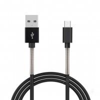 ΚΑΛΩΔΙΟ ΤΑΧΕΙΑΣ ΦΟΡΤΙΣΗΣ USB ΓΙΑ MICRO USB 2,4A 100cm Καλώδια americat.gr