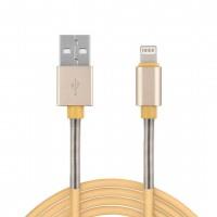 ΚΑΛΩΔΙΟ ΦΟΡΤΙΣΗΣ & ΣΥΓΧΡΟΝΙΣΜΟΥ 2,4A 100cm USB - APPLE LIGHTNING Καλώδια americat.gr