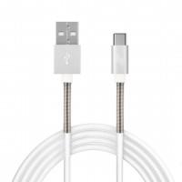 ΚΑΛΩΔΙΟ ΦΟΡΤΙΣΗΣ ΚΑΙ ΣΥΓΧΡΟΝΙΣΜΟΥ USB TYPE C 2,4A 100cm FULL LINK Καλώδια americat.gr