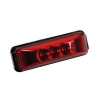 Φως Φορτηγού 24V 3LED Κόκκινο 103x35mm Προβολείς LED americat.gr
