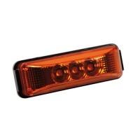 Φως Φορτηγού 24V 3LED Πορτοκαλί 103x35mm Προβολείς LED americat.gr