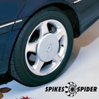 ΑΝΤΑΠΤΟΡΕΣ 17 mm ΓΙΑ SPIKES SPIDER ΑΛΥΣΙΔΕΣ (2 ΤΕΜ.) Spikes Spider Αντάπτορες americat.gr