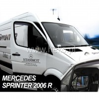 MERCEDES SPRINTER W906 2006>2018 / VW CRAFTER (ΚΟΝΤΟ) - ΖΕΥΓΑΡΙ ΑΝΕΜΟΘΡΑΥΣΤΕΣ (2 ΤΕΜ.) Mercedes americat.gr