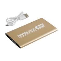 ΑΥΤΟΝΟΜΟΣ ΦΟΡΤΙΣΤΗΣ ΜΠΑΤΑΡΙΑΣ USB>MICRO USB ΧΡΥΣΟΣ Φορτιστές americat.gr