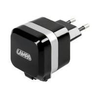 ΠΡΙΖΑ 230V 12 ΜΕ 1 USB ΚΑΙ ΚΑΛΩΔΙΟ ΦΟΡΤΙΣΗΣ MICRO USB 90cm 2400mA FAST CHARGER Φορτιστές americat.gr