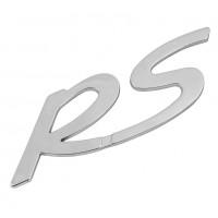 ΑΥΤΟΚΟΛΛΗΤΟ 3D ΣΗΜΑ RS (ΧΡΩΜΙΟ/ΤΡΙΣΔΙΑΣΤΑΤΟ) 115 Χ 35 mm - 1 ΤΕΜ. Σήματα 3D americat.gr