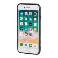 APPLE iPHONE 7 & 8 ΘΗΚΗ ΚΙΝΗΤΟΥ DUO POCKET ΜΑΥΡΟ-ΚΟΚΚΙΝΟ ΜΑΓΝΗΤΙΚΗ SILVER LINE Apple americat.gr
