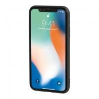 APPLE iPHONE X ΘΗΚΗ ΚΙΝΗΤΟΥ DUO POCKET ΜΑΥΡΟ-ΚΟΚΚΙΝΟ ΜΑΓΝΗΤΙΚΗ SILVER LINE Apple americat.gr