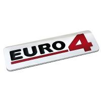 ΜΕΤΑΛΛΙΚΟ ΑΥΤΟΚΟΛΛΗΤΟ 3D EURO4 Αυτοκόλλητα Φορτηγών americat.gr