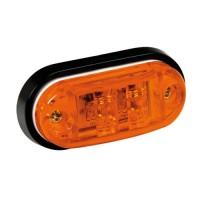 ΦΩΣ ΦΟΡΤΗΓΟΥ 2LED ΠΟΡΤΟΚΑΛΙ 24V 72mm Λαμπάκια LED americat.gr