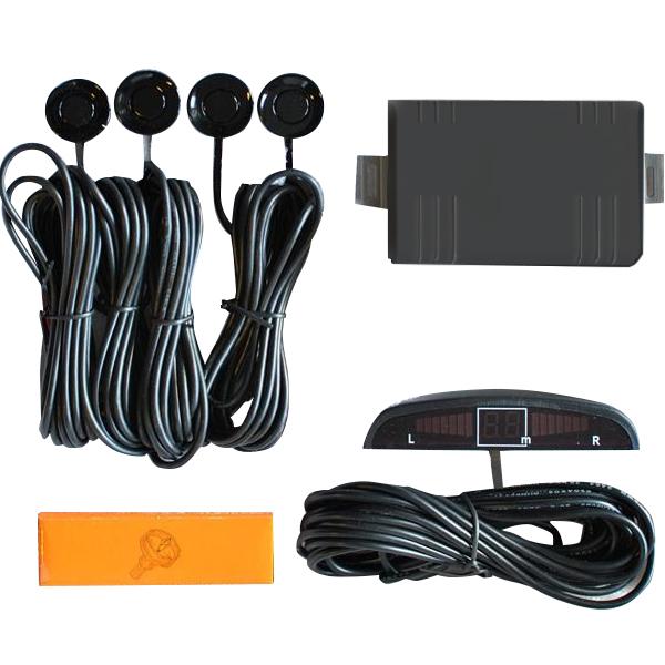 Σύστημα Παρκαρίμαστος Besyo με 4 αισθητήρες και ψηφιακή οθόνη - ΜΑΥΡΟ