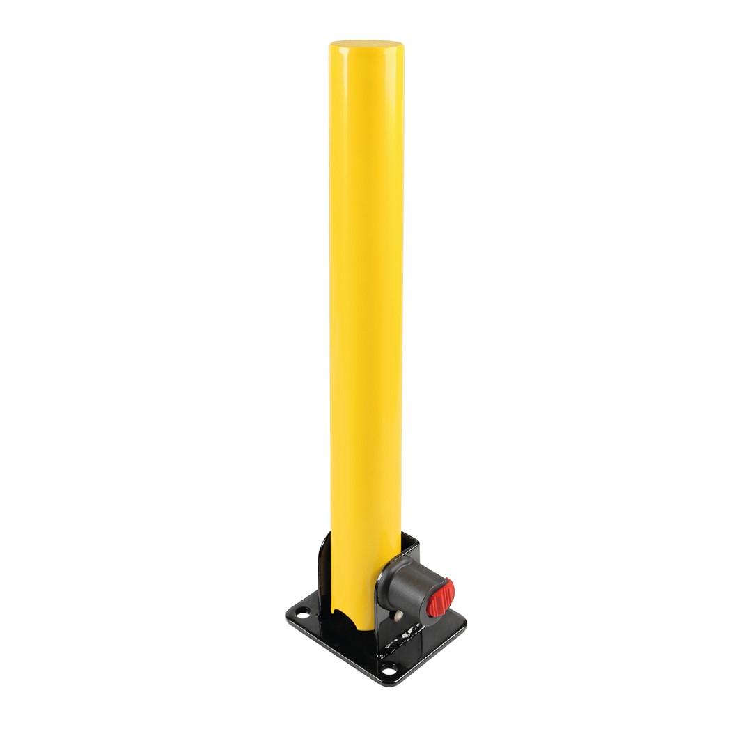 ΜΠΑΡΑ ΣΤΑΘΜΕΥΣΗΣ/ΣΤΥΛΟΣ ΠΑΡΚΙΝΓΚ 620 Χ 60 mm ΜΕ ΚΛΕΙΔΙ ΚΑΙ ΒΑΣΗ 130 Χ 110 mm - 1 ΤΕΜ.